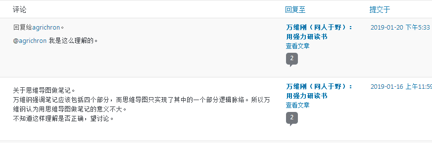 wordpress后台评论时间